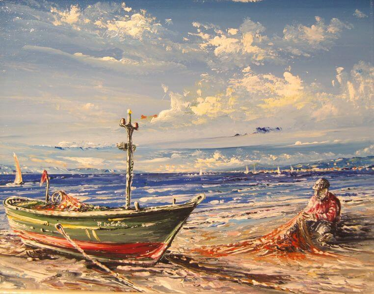 Storia di un turista e un pescatore
